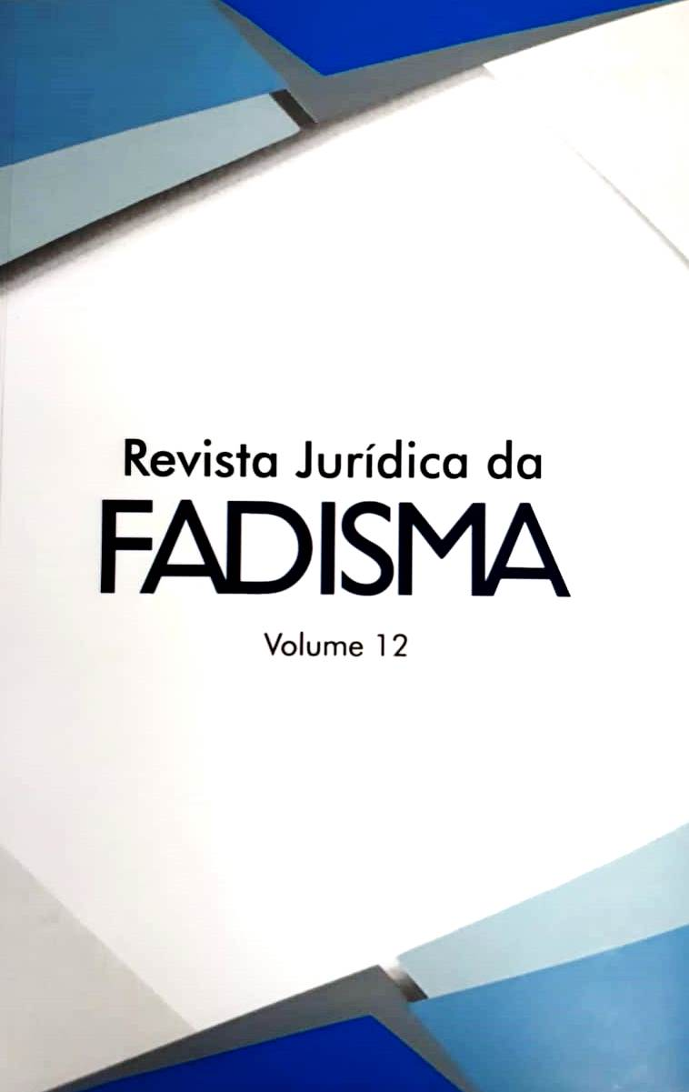 Revista Jurídica da FADISMA VOL 12