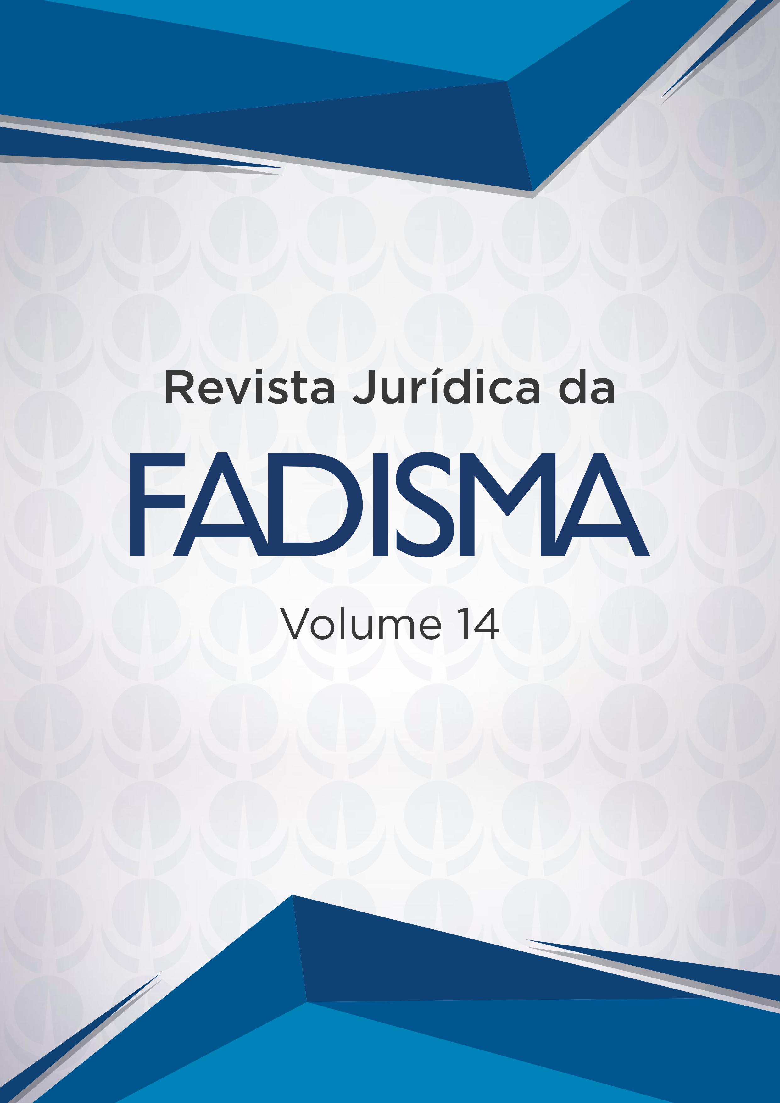 Revista Jurídica da FADISMA VOL 14